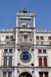 Reloj en el cuadrado de San Marco Fotos de archivo