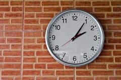 Reloj en la pared Imagen de archivo