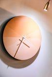 Reloj en la semana del diseño de Estambul Imagen de archivo libre de regalías