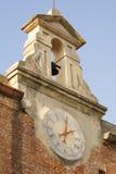 Reloj en Pisa Foto de archivo libre de regalías
