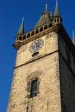 Reloj en Praga Foto de archivo libre de regalías