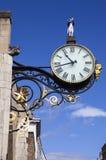 Reloj en St Martin le Grand en York Fotos de archivo libres de regalías
