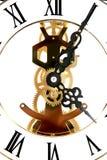Reloj esquelético Imagen de archivo libre de regalías