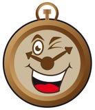 Reloj feliz Fotos de archivo libres de regalías