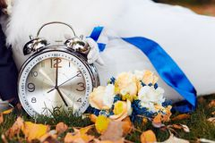 Reloj grande Foto de archivo libre de regalías