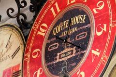 Reloj hermoso de la estación Fotografía de archivo
