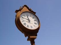 Reloj I de Villiage Fotos de archivo