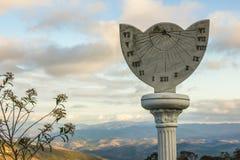 Reloj Ibitipoca de Sun imagenes de archivo