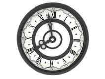 Reloj. las ocho libre illustration