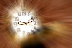 Reloj mágico del tiempo Imágenes de archivo libres de regalías