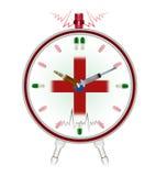Reloj médico Imágenes de archivo libres de regalías
