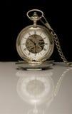 Reloj mecánico del bolsillo Imagen de archivo libre de regalías