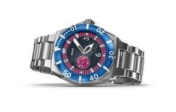 Reloj mecánico Mis los propios diseño Fotografía de archivo libre de regalías