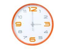 Reloj moderno Fotografía de archivo libre de regalías