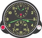 Reloj numerado vector Imagen de archivo libre de regalías