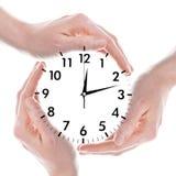 Reloj o reloj Fotos de archivo libres de regalías