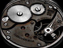 Reloj oxidado Fotos de archivo
