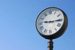 Reloj público Fotografía de archivo