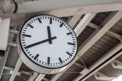 Reloj público Fotografía de archivo libre de regalías