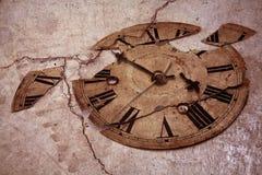 Reloj pasado de moda Fotografía de archivo