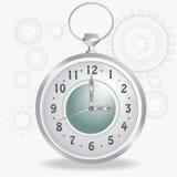 Reloj pasado de moda Imagen de archivo