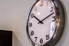 Reloj puro de Chromo Imagenes de archivo