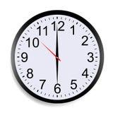 Reloj redondo Imagen de archivo