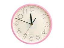 Reloj redondo Foto de archivo libre de regalías