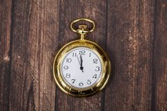 Reloj retro Imágenes de archivo libres de regalías