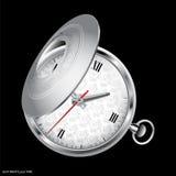 Reloj retro de la castellana Imagen de archivo