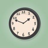 Reloj retro de la historieta Foto de archivo libre de regalías