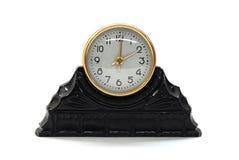 Reloj retro de la sepia Imagen de archivo