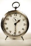 Reloj retro viejo foto de archivo libre de regalías