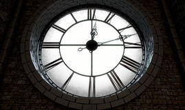 Reloj retroiluminado de la antigüedad Imagen de archivo