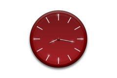 Reloj rojo Foto de archivo
