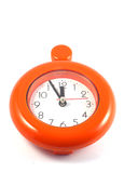 Reloj rojo Imagen de archivo libre de regalías