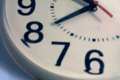 Reloj seises a nueve Imagenes de archivo