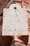 Reloj solar fotos de archivo libres de regalías