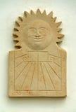 Reloj solar Imagen de archivo libre de regalías
