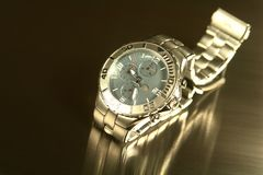 Reloj Titanium Fotos de archivo