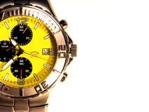 Reloj Titanium del Mens Fotografía de archivo libre de regalías