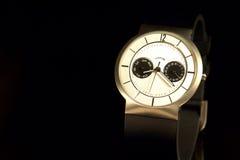 Reloj Titanium del Mens fotos de archivo libres de regalías