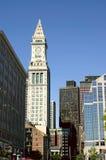 Reloj-torre de aduanas Imagenes de archivo