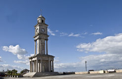 Reloj-torre de la bahía de Herne Fotos de archivo