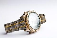 reloj usado de la mano Foto de archivo