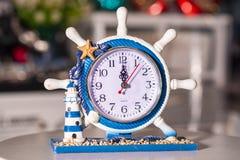 Reloj usado para la decoración casera fotografía de archivo libre de regalías