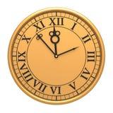 reloj viejo antiguo 3d Imagen de archivo