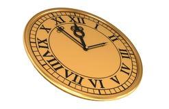 reloj viejo antiguo 3d Imágenes de archivo libres de regalías