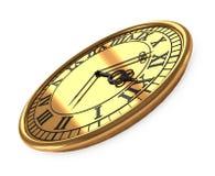 reloj viejo antiguo 3d Fotografía de archivo libre de regalías