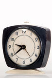 Reloj viejo negro Imagen de archivo